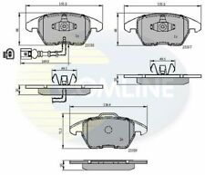 Front Brake Pads FOR AUDI TT 8J 1.8 2.0 08->14 CHOICE1/2 Diesel Petrol Comline