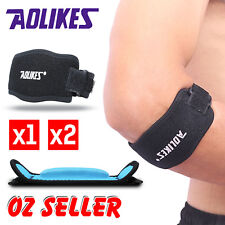 Adjustable Tennis Elbow Support Strap Band Brace Golf Forearm Pain Relief AU