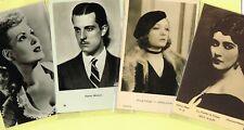 Vintage Original ☆ FILM STAR ☆ Postcards from around the World - List NO