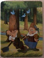 """Disney Snow White Plate Sneezy and Bashful """"Ah-Ah-Ah-Choo"""" Numbered"""