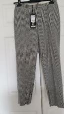 NWT $925 ESCADA Luxury Cotton/Silk/Wool Women's Luxury Pants US 8 /EU 38