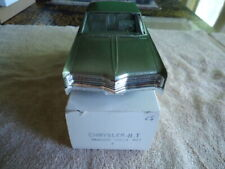 1968 CHRYSLER 300  PROMO W/BOX - REAL MINT HERE  EXTREME RARE COLOR
