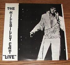 "MINT- * MEGA RARE Elvis Presley THE HILLBILLY CAT "" LIVE "" 2 LP's Gatefold Cover"