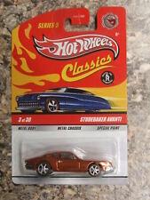 Hot Wheels Classics Series 5 Orange Studebaker Avanti Chase Real Riders #3 of 30