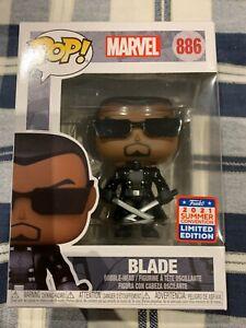 Blade Marvel SDCC Comic Con 2021 Funko Pop! Vinyl Figure 886 Vampire Hunter