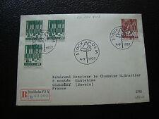 SUEDE - enveloppe 4/9/1959 (cy35) sweden