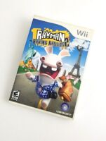 Rayman Raving Rabbids 2 (Nintendo Wii, 2007) Action Adventure Rated E