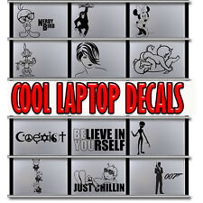 Laptop MacBook iPad Tablet NoteBook Sticker Decal Vinyl Skin hand made in the uk
