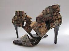 $590 NWB Donna Karan 816848/12 Sandals Multi-Color Women's 6.5-7 Medium