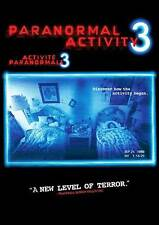 Paranormal Activity 3 (DVD, 2012, Widescreen)