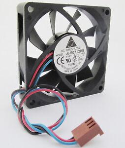 1pc DELTA AFB0712HB 70x70x15mm 70mm 7015 12V 0.33A CPU DC Cooling Fan 3wire