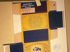 REPLIQUE  BOITE BENTLEY 4,5 L LE MANS 1929 / MATCHBOX 1958