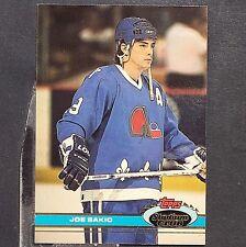 JOE SAKIC  1991/92  Stadium Club  #389  Quebec Nordiques  Colorado Avalanche HOF