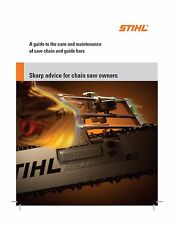 Stihl Sharp Advice Guide and How To Sharpen Your Chainsaw