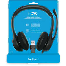 BRAND NEW - Logitech H390 USB Headset for video conference Teams Zoom Slack WFH