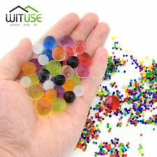 5000-20000pcs Home Decor Pearl Shaped Crystal Soil Water Beads Bio Gel Ball A0D