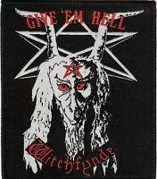 Witchfynde Patch Raven Hell Pagan Altar Angel Witch Demon Satan Raven Quartz