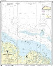 NOAA Chart Prudhoe Bay and vicinity 8th Edition 16061