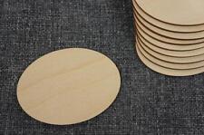 10 Stk Oval Form Holz Zirkel Dekration Basteln Kreativ Malen Decoupage /PW66/