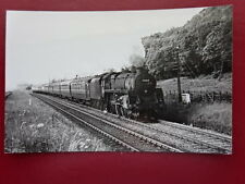 PHOTO  BR STANDARD CLASS 5 LOCO NO 73163 AT SCARBOROUGH