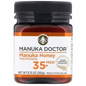 Manuka Honey Multifloral, MGO 35+, 8.75 oz (250 g)