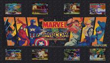 "Marvel vs Capcom Big Blue Dynamo Arcade Marquee 27"" x 15.5"""