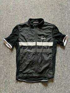 Rapha Brevet Windblock Jersey, Short Sleeve, Full Zipp   Black, Small