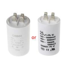 CBB60 AC450V 25UF 50/60Hz Capacitor Motor Conditioner Compressor Start Capacitor