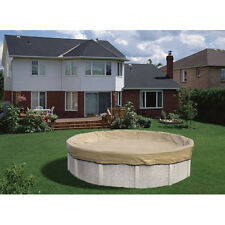 15' x 30' Oval ArmorKote 20yr Solid Above Ground Winter Pool Cover