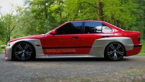 bmw e36 4dr sedan Pandem wide body kit
