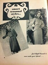 Lauren Bacall, Full Page Vintage Clipping