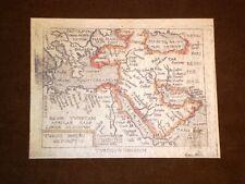 Mappa Turchia Theatrum Orbis Terrarum 1724 Abraham Ortelius A.Ortelio Ristampa