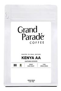 Kenyan AA Gatuiri Dark Roast Coffee Beans,, Fresh Roasted Daily, 1 LB Bag
