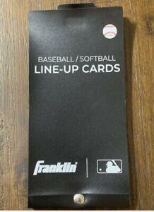 Franklin Baseball/Softball Line Up Card Book