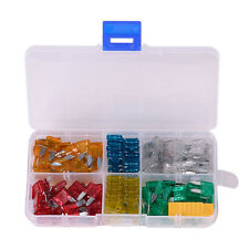 120pc Blade Fuse Assortment Auto Car Motorcycle SUV Replacement Fuse Kit APM ATM