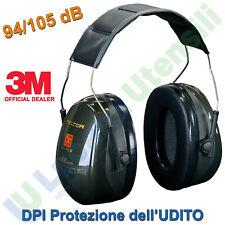 3m H520a-407-gq Peltor Optime II Cuffie Auricolari 31 DB Temporale (k4x)