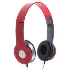 Kopfhörer in Rot
