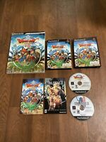 Dragon Quest VIII 8: Journey of the Cursed King Ps2 Complete With Game Guide