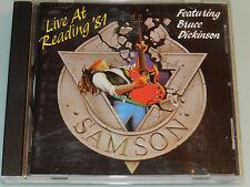 Samson - Live at Readin '81 - RARE cd Iron Maiden Angel Witch Saxon OOP