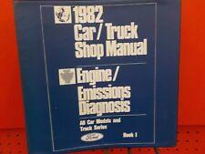 1982 FORD CAR TRUCK ENGINE EMISSIONS DIAGNOSIS SERVICE MANUAL VOL 1 & 2  (FM900)