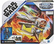"Star Wars Mission Fleet Stellar Class Vehicle: 2.5"" Anakin & Jedi Starfighter"
