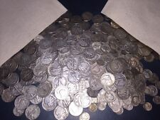 $1 Face Value of 90% Silver Lot U.S Coins ✯ Quarters & Dimes & Half Dollars G-BU