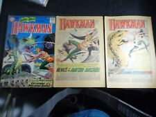 Brave and the Bold #34 #35 and #36 NO STOCK PHOTOS 1st HAWKMAN