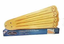 Harbor Breeze Light Maple Wood Finish Indoor Ceiling Fan 5 Blades Item # 197568