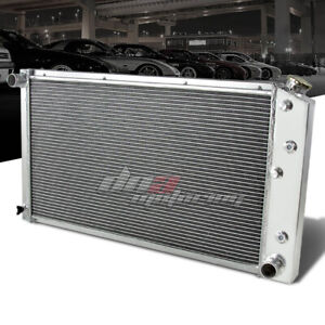 FOR 1968-1976 CHEVY CHEVELLE/CAPRICE FULL ALUMINUM CORE 3-ROW RACING RADIATOR