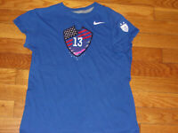 NIKE US SOCCER ALEX MORGAN SHORT SLEEVE SOCCER T-SHIRT GIRLS SMALL EXCELLENT
