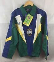 BNWT BrazIl Training Drill Football Jacket 1991/93 Adults Large Umbro