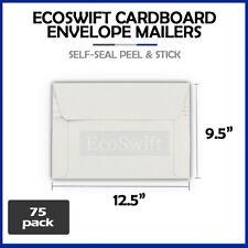 75 125 X 95 Self Seal White Photo Ship Flats Cardboard Envelope Mailers