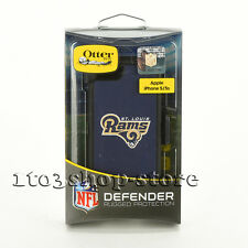 OtterBox Defender iPhone 5 iPhone SE 5s Case w/Belt Clip NFL St. Louis Rams NEW