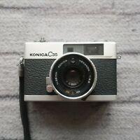 Konica C35 AF 35mm Point & Shoot Film Camera f/38mm Tested Vintage Rangefinder